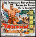 "Movie Posters:Adventure, Tarzan the Magnificent (Paramount, 1960). Six Sheet (81"" X 81"").Adventure.. ..."