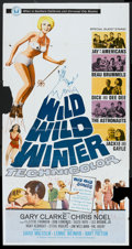"Movie Posters:Rock and Roll, Wild, Wild Winter (Universal, 1966). Three Sheet (41"" X 81""). Rockand Roll.. ..."