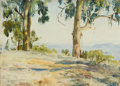 Fine Art - Painting, American:Modern  (1900 1949)  , HOWARD RUSSELL BUTLER (American, 1856-1934). MontecitoVista. Oil on artist's board. 10-1/4 x 14 inches (26.0 x 35.6cm)...
