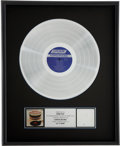 Music Memorabilia:Awards, Rolling Stones - Bobby Keys' Let It Bleed RIAA PlatinumAlbum Award....