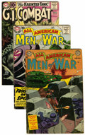 Golden Age (1938-1955):War, DC Golden/Silver Age War Group (DC, 1953-61) Condition: AverageVG.... (Total: 6 Comic Books)