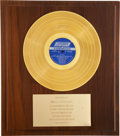 Music Memorabilia:Awards, Rolling Stones Hot Rocks Gold Album Award....