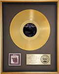 Music Memorabilia:Awards, Cat Stevens Numbers RIAA Gold Album Award....