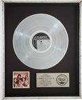 Music Memorabilia:Awards, Firefall Elan RIAA Platinum Album Award....