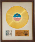 Music Memorabilia:Awards, Stephen Stills & Manassas Manassas RIAA Gold AlbumAward....