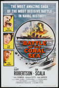 "Movie Posters:War, Battle of the Coral Sea (Columbia, 1959). One Sheet (27"" X 41"").War.. ..."