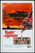 "Movie Posters:War, Battle of Britain (United Artists, 1969). One Sheet (27"" X 41"") andProgram (Multiple Pages, 8.25"" X 11""). War.. ... (Total: 2 Items)"