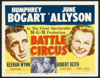 """Battle Circus (MGM, 1953). Lobby Card Set of 8 (11"""" X 14""""). Drama. ... (Total: 8 Items)"""