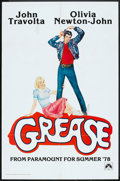 """Movie Posters:Musical, Grease (Paramount, 1978). One Sheet (27"""" X 41"""") Advance. Musical.. ..."""