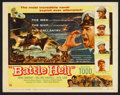 "Movie Posters:War, Battle Hell (DCA, 1957). Lobby Card Set of 8 (11"" X 14""). War.. ...(Total: 8 Items)"