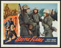 "Movie Posters:War, Battle Flame (Allied Artists, 1959). Lobby Card Set of 8 (11"" X14""). War.. ... (Total: 8 Items)"