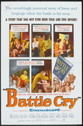 """Movie Posters:War, Battle Cry (Warner Brothers, 1955). One Sheet (27"""" X 41""""). War....."""