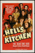"""Movie Posters:Crime, Hell's Kitchen (Warner Brothers, 1939). One Sheet (27"""" X 41"""").Crime.. ..."""
