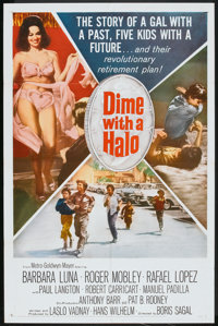 "Dime With a Halo (MGM, 1963). One Sheet (27"" X 41""). Comedy"