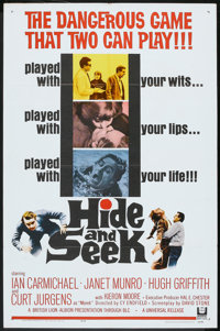 "Hide and Seek (Universal, 1964). One Sheet (27"" X 41""). Thriller"
