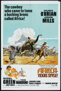 "Movie Posters:Adventure, Africa - Texas Style! Lot (Paramount, 1967). One Sheets (2) (27"" X41""). Adventure.. ... (Total: 2 Items)"