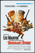 "Movie Posters:War, Sergeant Ryker (Universal, 1968). One Sheet (27"" X 41""). War.. ..."