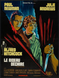 """Movie Posters:Hitchcock, Torn Curtain (Universal, 1966). French Affiche (22.5"""" X 30.5""""). Hitchcock.. ..."""