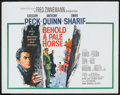 "Movie Posters:War, Behold a Pale Horse (Columbia, 1964). Half Sheet (22"" X 28""). War....."
