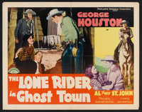 """The Lone Rider in Ghost Town (PRC, 1941). Half Sheet (22"""" X 28""""). Western"""