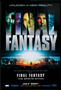 "Movie Posters:Animated, Final Fantasy: The Spirits Within (Columbia, 2001). One Sheet (27""X 40"") Advance. Animated.. ..."