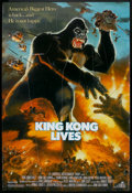 "Movie Posters:Adventure, King Kong Lives (DeLaurentis, 1986). One Sheet (27"" X 40"").Adventure.. ..."