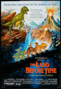 "Movie Posters:Animated, The Land Before Time (Universal, 1988). One Sheet (27"" X 40"").Animated.. ..."