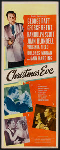 """Christmas Eve (United Artists, 1947). Insert (14"""" X 36""""), Pressbook (Multiple Pages, 11"""" X 17"""") and..."""