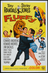"""Fluffy (Universal, 1965). One Sheet (27"""" X 41"""") and Pressbook (Multiple Pages, 12"""" X 18""""). Comedy..."""