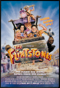 "The Flintstones (Universal, 1994). One Sheet (27"" X 40"") DS Advance and Lobby Cards (7) (11"" X 14"")..."