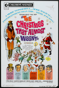"""The Christmas That Almost Wasn't (MGM, R-1972). One Sheet (27"""" X 41"""") and Pressbook (Multiple Pages, 11""""..."""