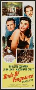 "Movie Posters:Adventure, Bride of Vengeance (Paramount, 1949). Insert (14"" X 36"").Adventure.. ..."