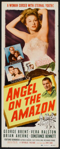 "Movie Posters:Adventure, Angel on the Amazon (Republic, 1948). Insert (14"" X 36"").Adventure.. ..."