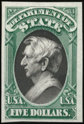 Stamps, 1873 Officials Plate Proofs on India (O1-93P3),...