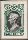 Stamps, 1c - $20 Officials / Dept of State Small Die Proofs (O57-71P2),...
