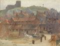 Fine Art - Painting, American:Modern  (1900 1949)  , ANNA RICHARDS BREWSTER (American, 1870-1952). Whitby. Oil onartist's board. 10 x 13 inches (25.4 x 33.0 cm). Initialed ...