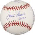 Autographs:Baseballs, 300 Game Winners Multi Signed Baseball PSA Mint+ 9.5....