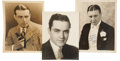 Movie/TV Memorabilia:Autographs and Signed Items, Golden Age Vintage Actor Signed Photos.... (Total: 3 Items)