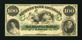 Obsoletes By State:Louisiana, New Orleans, LA- Citizens' Bank of Louisiana $100. ...