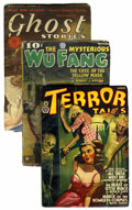 Pulps:Horror, Misc. Horror Pulps Horror Group (Various Pubishers, 1928-41)....(Total: 3 Items)