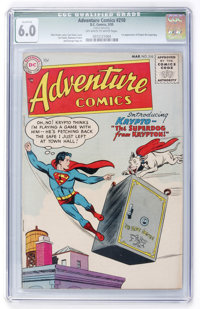 Adventure Comics #210 (DC, 1955) CGC Qualified FN 6.0 Off-white to white pages