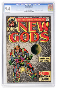 The New Gods #1 (DC, 1971) CGC NM 9.4 Off-white pages