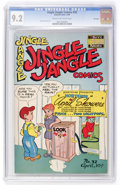 Golden Age (1938-1955):Humor, Jingle Jangle Comics #32 File Copy (Eastern Color, 1948) CGC NM- 9.2 Cream to off-white pages....