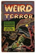 Golden Age (1938-1955):Horror, Weird Terror #6 (Comic Media, 1953) Condition: VG....