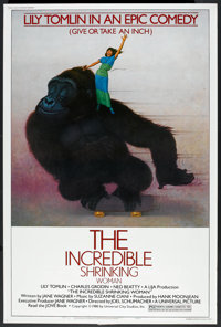 """The Incredible Shrinking Woman (Universal, 1981). Poster (40"""" X 60"""") Style B. Comedy"""