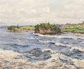 Fine Art - Painting, American:Modern  (1900 1949)  , LOUIS ASTON KNIGHT (American, 1873-1948). Reversing Falls, St.John, N.B.. Oil on canvas. 20 x 24 inches (50.8 x 61.0 cm...