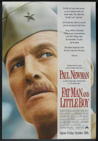 "Fat Man and Little Boy (Paramount, 1989). One Sheet (27"" X 41"") Advance and Ad Slicks (18"" X 24"")..."