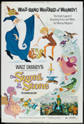 "Movie Posters:Animated, The Sword in the Stone Lot (Buena Vista, R-1973). Posters (5 ) (40""X 60""). Animated.. ... (Total: 5 Items)"