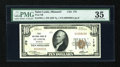 National Bank Notes:Missouri, Saint Louis, MO - $10 1929 Ty. 1 First NB Ch. # 170. ...