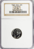 Proof Roosevelt Dimes: , 1960 10C Doubled Die Obverse PR66 NGC. FS-015. PCGS Population(30/5). (#5223)...